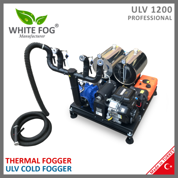Thermal Fogger Fogging ULV Cold Fogger Sprayer Spraying insecticide pesticide mosquito black flies space disinfection disinfectant covid covid19 sanitizer device car truck vehicle mounted ULV1200PRO
