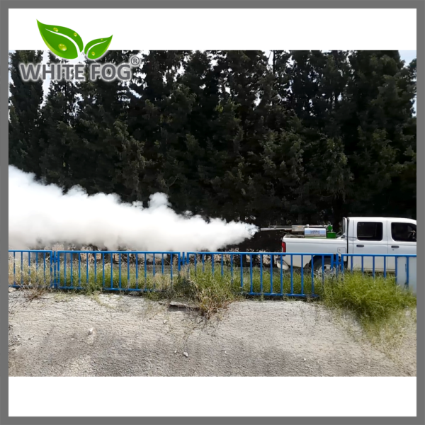 insecticide mosquito space treatment with thermal fogger machine