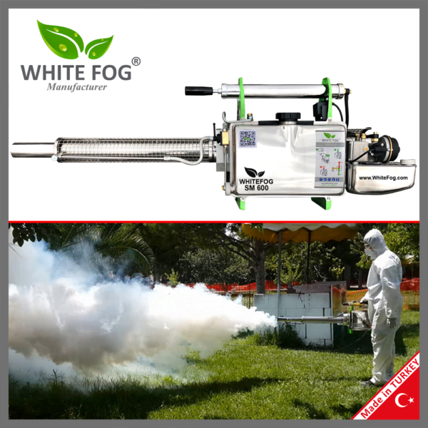 Hand Held Thermal Fogger Fogging Fumigation Machine Manufacturer Turkey WhiteFog SM600