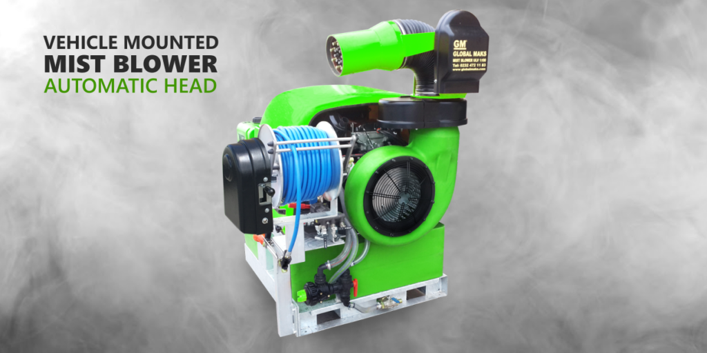 35 Hp Mist Sprayer Machine