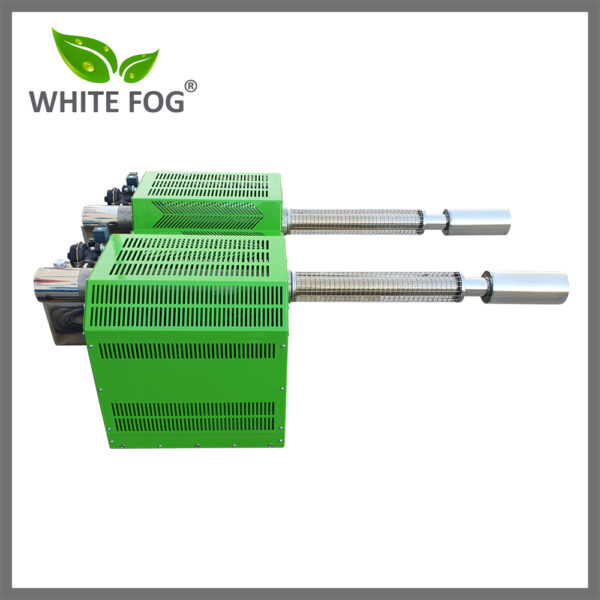 Two nozzle thermal fogger