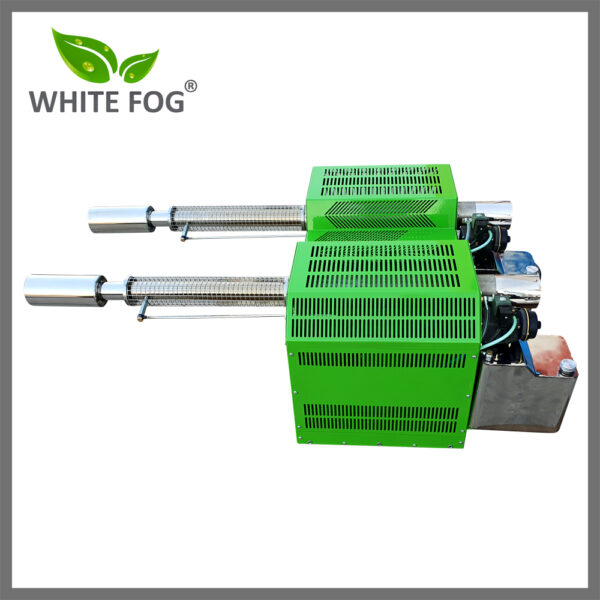 Two nozzle thermal fogger machine
