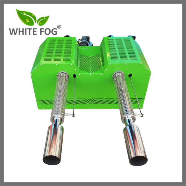 Vehicle Mounted two nozzle thermal fogger machine, high capacity thermal fogging machine