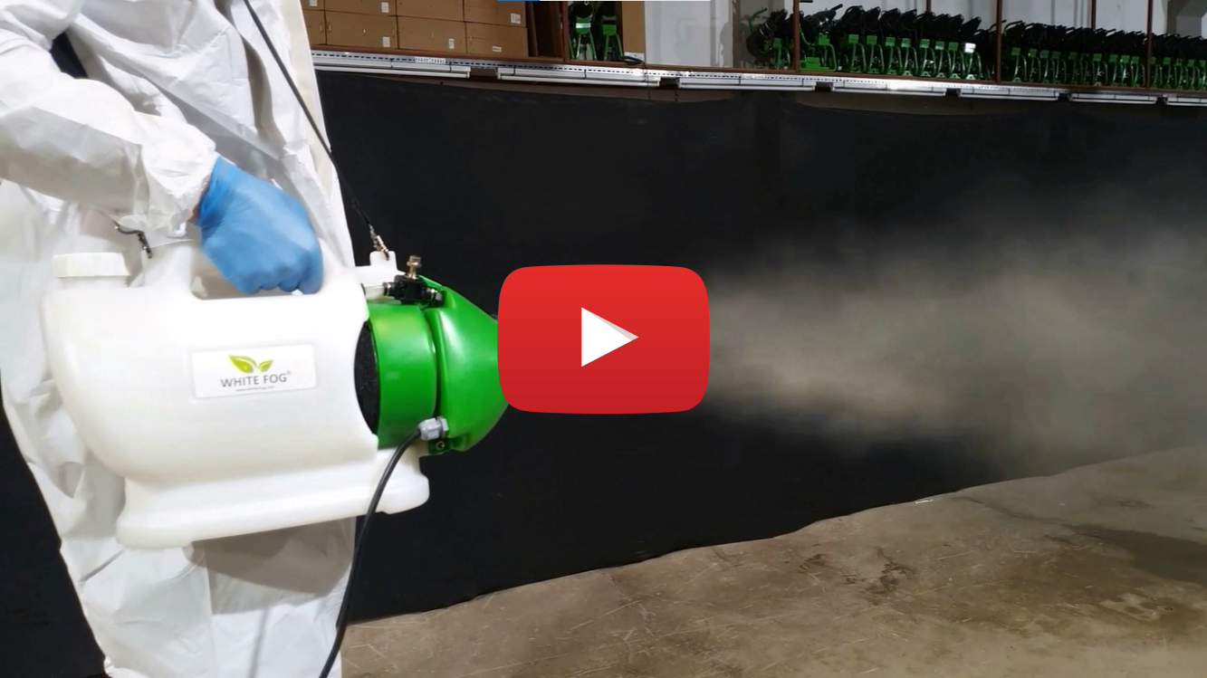 space star portable ulv disinfection fogger usage information